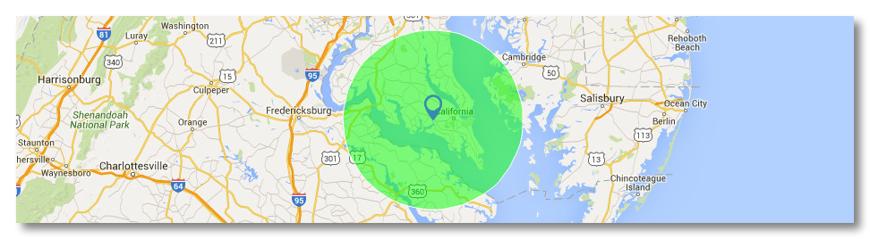 maryland lawn care map